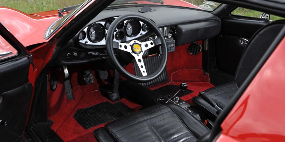 Ferrari Dino 246 GTS, Innenraum
