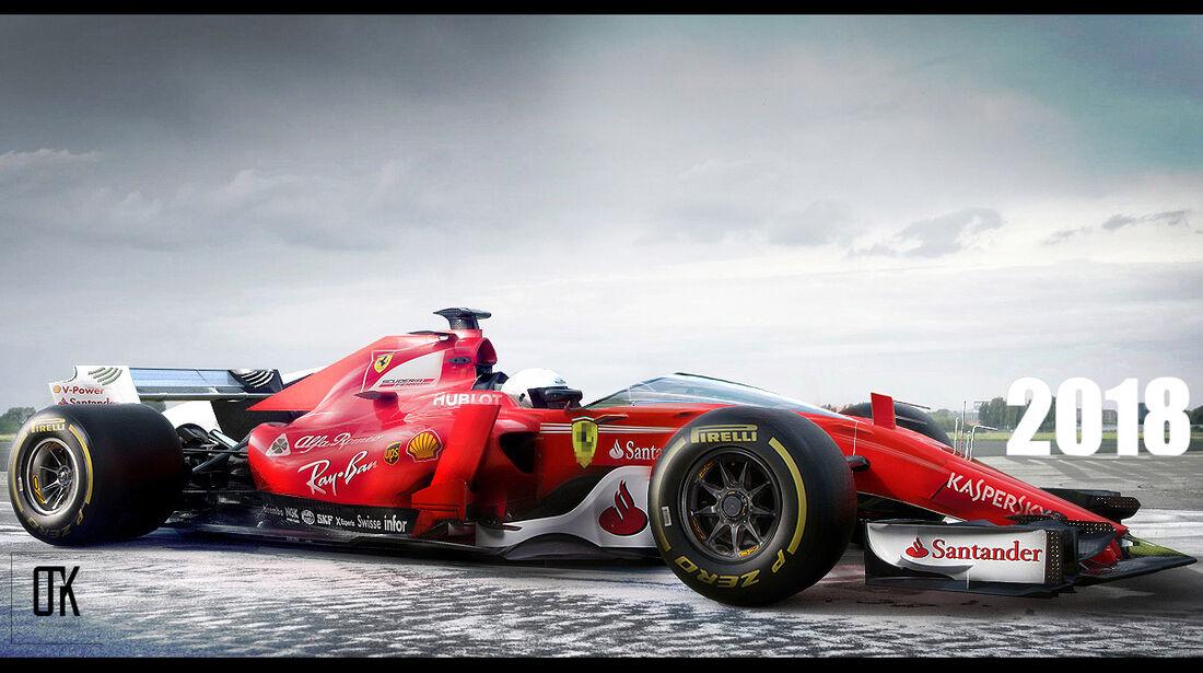 Ferrari - F1-Designstudie - 2017