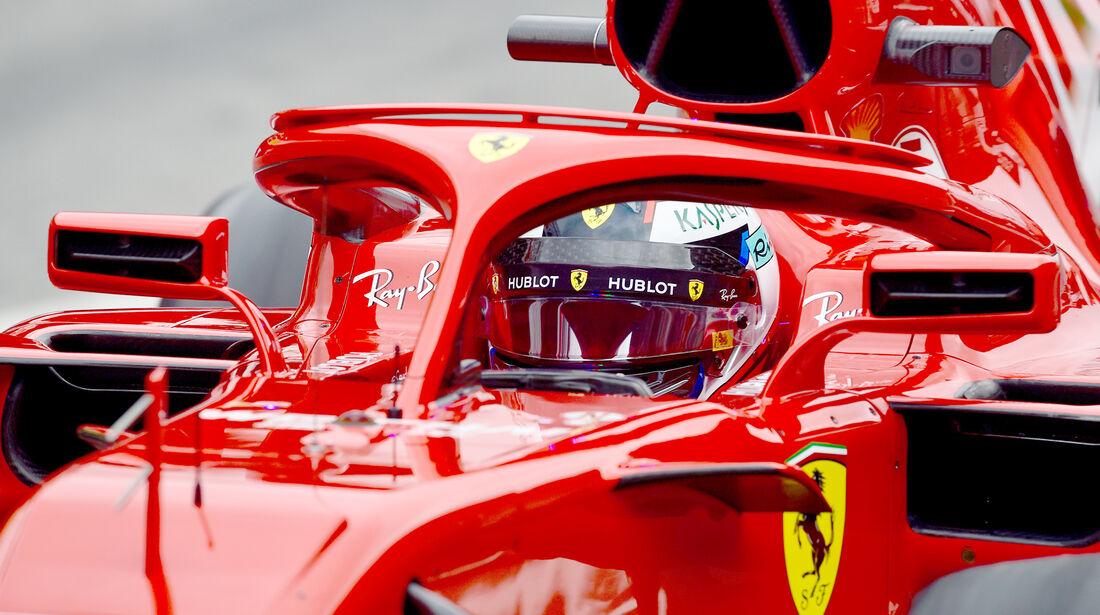 Ferrari - F1-Test Barcelona - 2018
