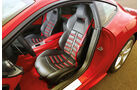 Ferrari F12 Berlinetta, Fahrersitz