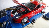 Ferrari F12 Berlinetta, Messstand