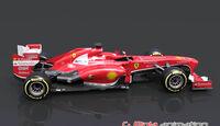 Ferrari F138 Updates Bahrain/Spanien 2013
