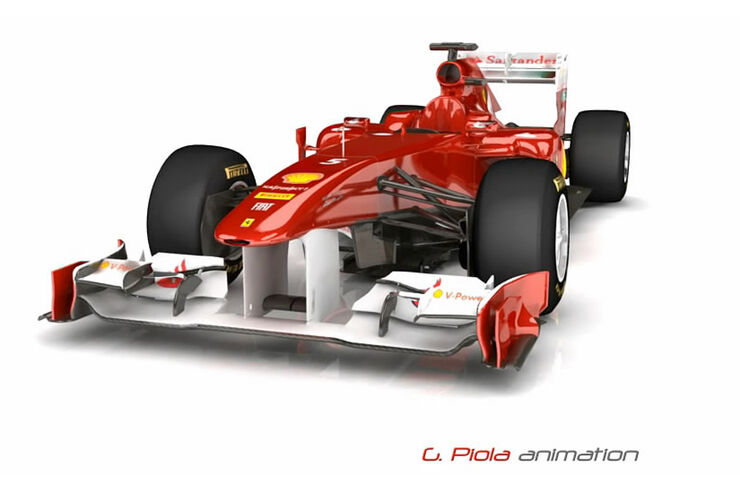 Ferrari F150 Piola Animation 2011