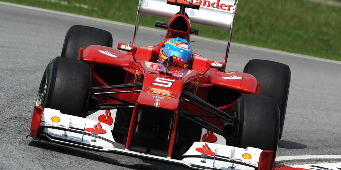 Ferrari F2012 Fernando Alonso GP Malaysia