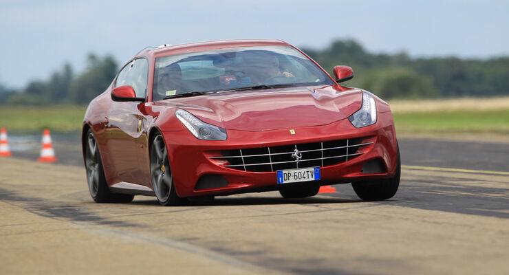 Ferrari FF, Front, Slalom, Kühlergrill