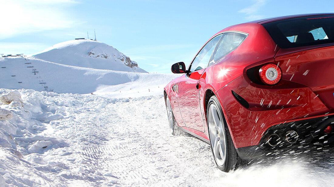 Ferrari FF, Heck, Schnee