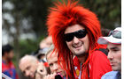 Ferrari-Fan - GP Australien - Melbourne - 16. März 2012