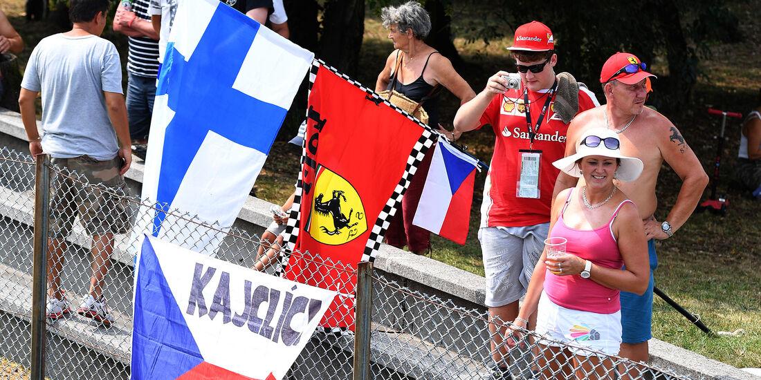 Ferrari-Fans - Formel 1 - GP Italien - Monza - 2. September 2016