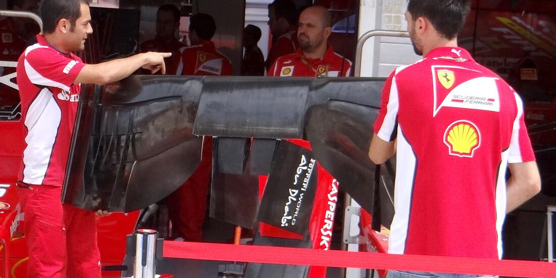 Ferrari - Formel 1 - Budapest - GP Ungarn - 26. Juli 2012