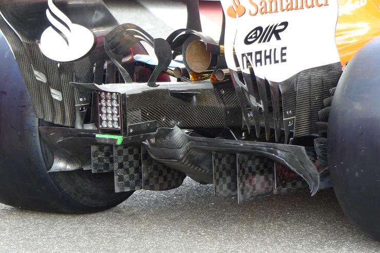 Risultati immagini per new diffuser ferrari abu dhabi automotorundsport
