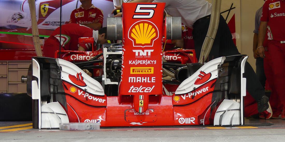 Ferrari - Formel 1 - GP Abu Dhabi - 24. November 2016