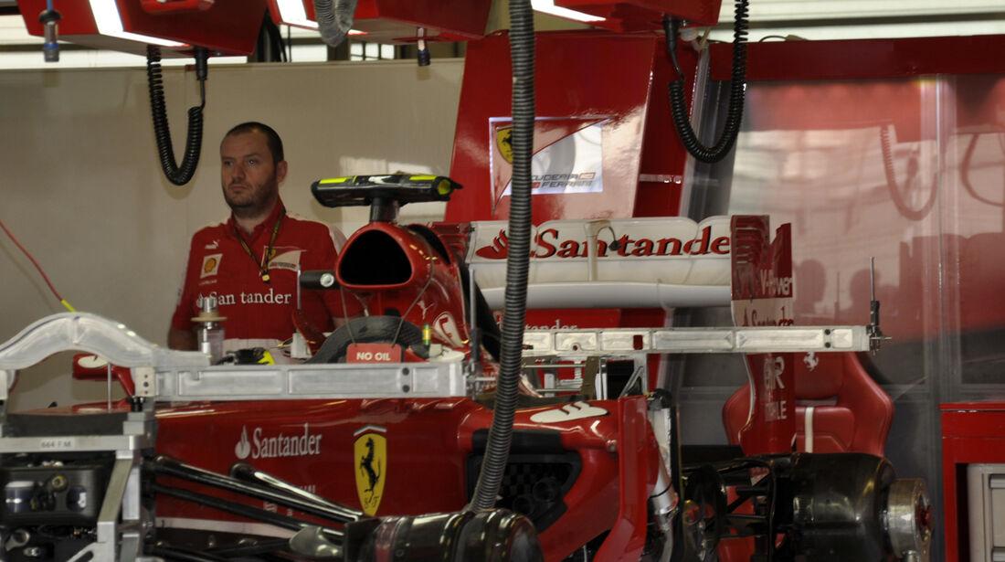 Ferrari  - Formel 1 - GP Abu Dhabi - 31. Oktober 2013