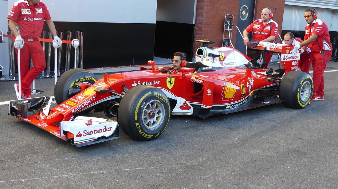 Ferrari - Formel 1 - GP Belgien - Spa-Francorchamps - 25. August 2016