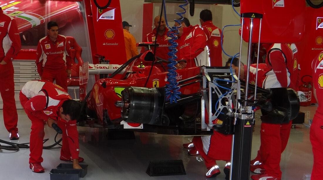 Ferrari - Formel 1 - GP Belgien - Spa-Francorchamps - 31. August 2012