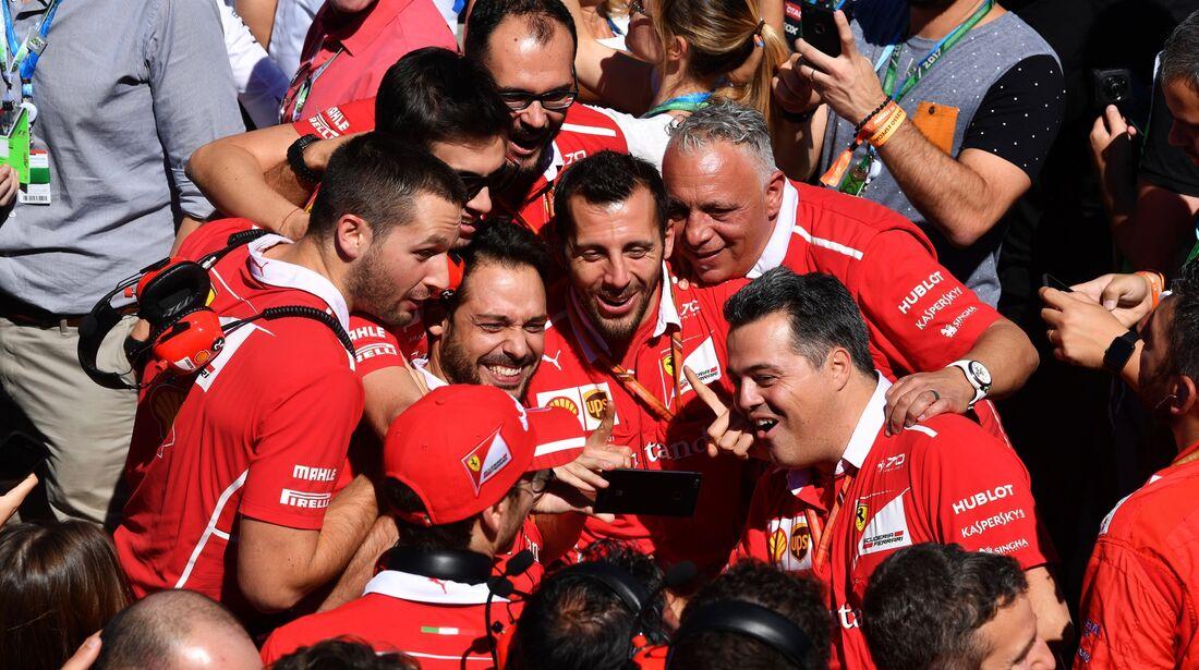 Ferrari - Formel 1 - GP Brasilien - 12. November 2017