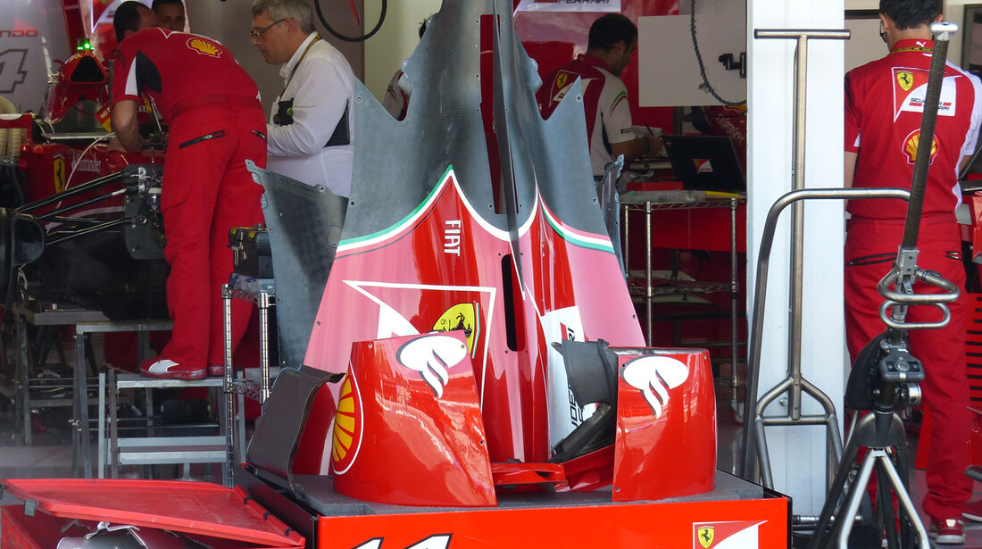 Ferrari - Formel 1 - GP Deutschland - Hockenheim - 17. Juli 2014