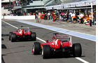 Ferrari - Formel 1 - GP Italien - 7. September 2013