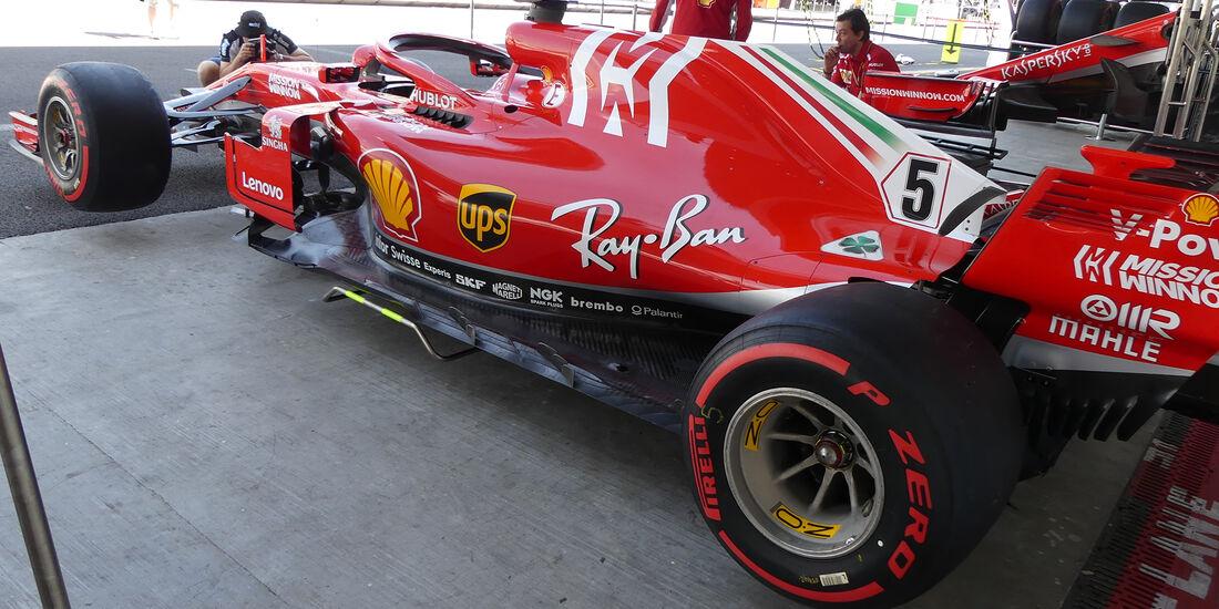 Ferrari - Formel 1 - GP Mexiko - 25. Oktober 2018