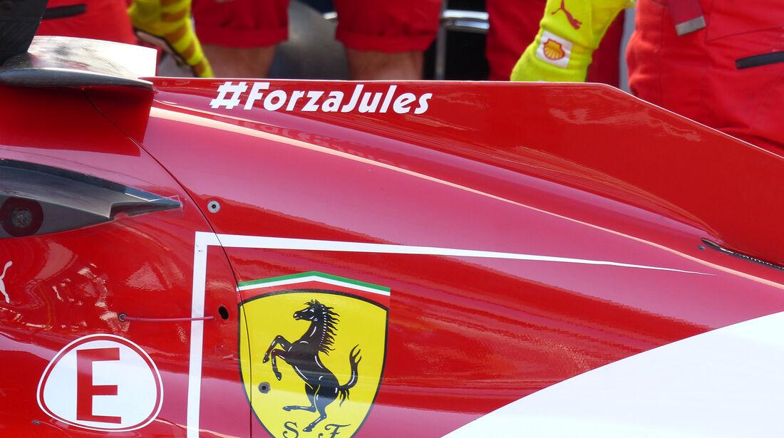 Ferrari - Formel 1 - GP Russland - 11. Oktober 2014