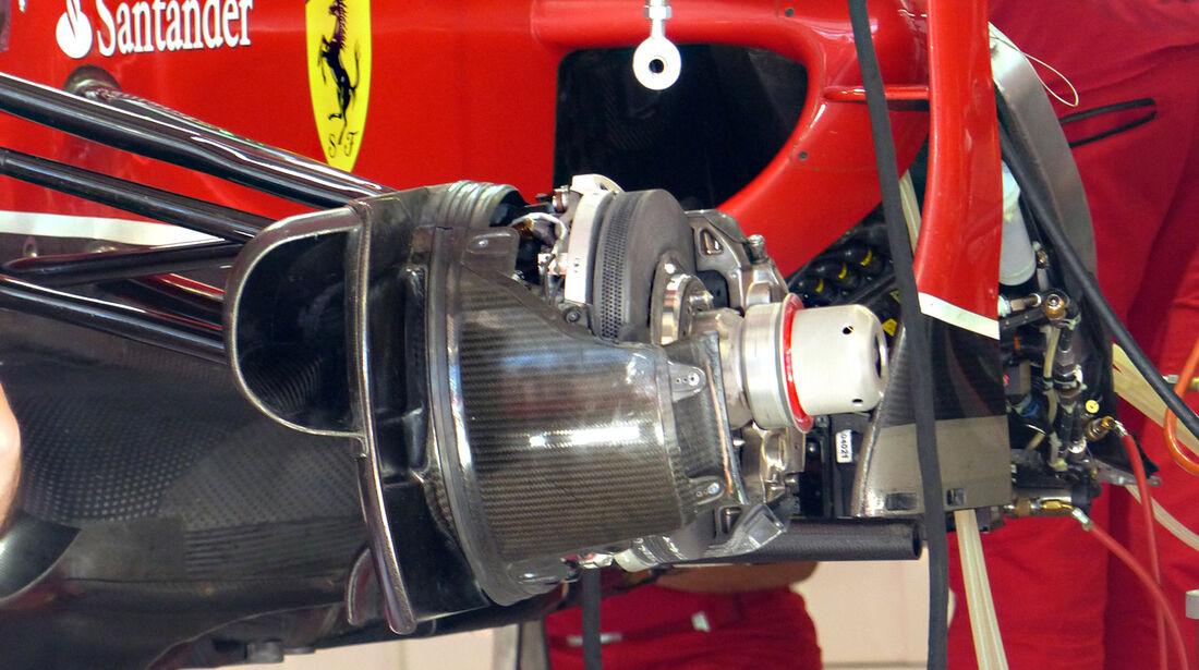 Ferrari - Formel 1 - GP Russland - Sochi - 9. Oktober 2014