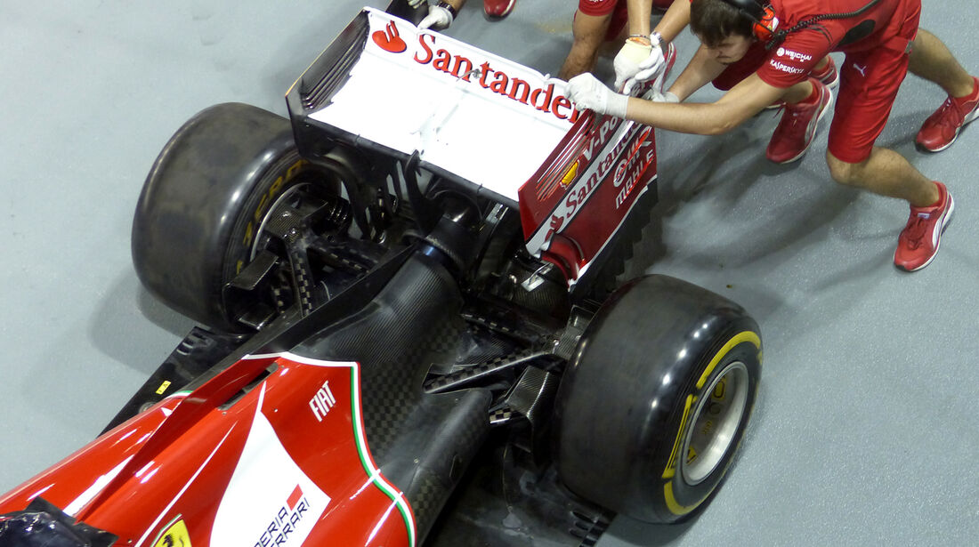 Ferrari - Formel 1 - GP Singapur - 18. September 2014