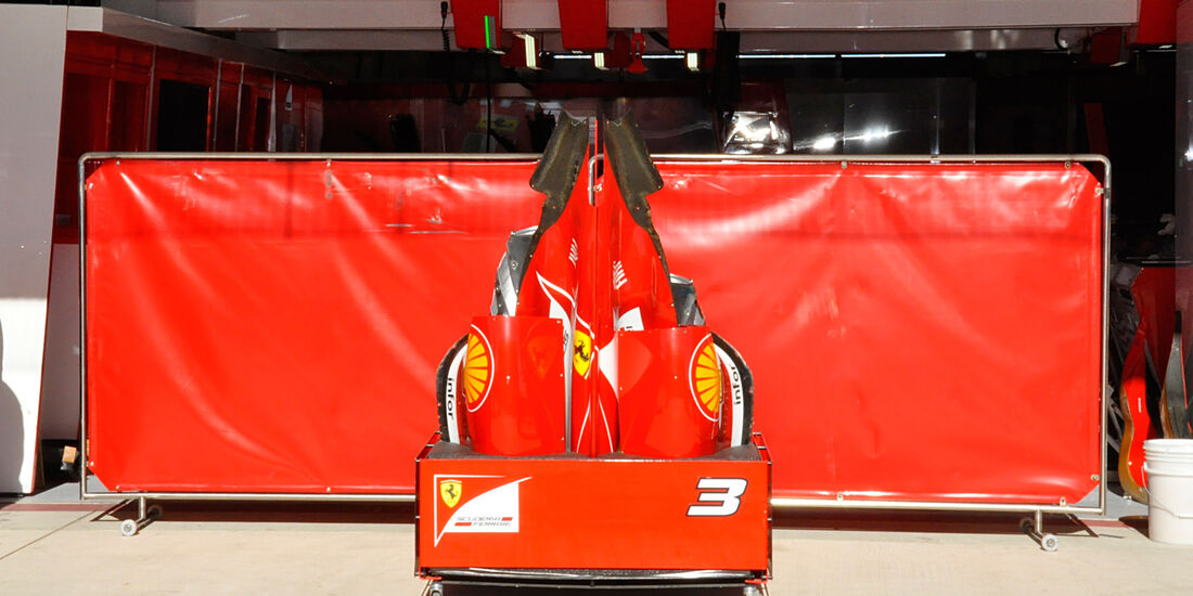 Ferrari - Formel 1 - GP USA - Austin - 13. November 2013