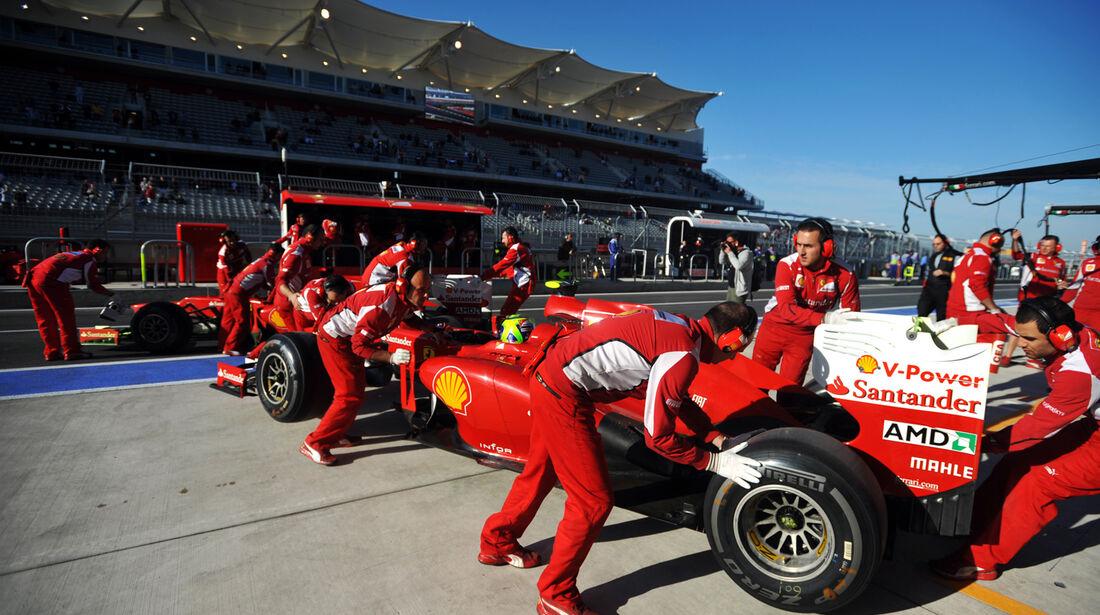 Ferrari - Formel 1 - GP USA - Austin - 16. November 2012
