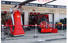 Ferrari - Formel 1 - GP Ungarn - 25. Juli 2014