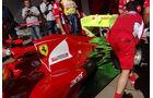 Ferrari Formel 1 Technik GP Spanien 2012