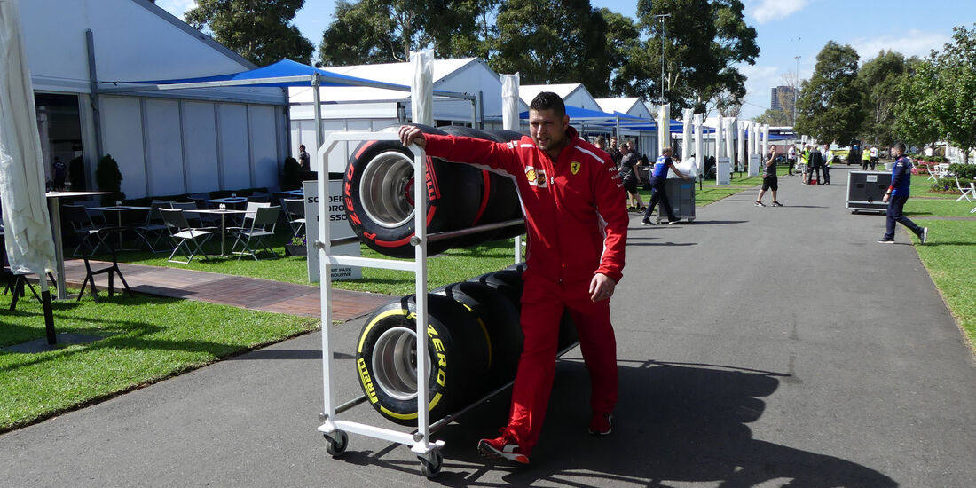 Ferrari - GP Australien 2018 - Melbourne - Albert Park - Mittwoch - 21.3.2018