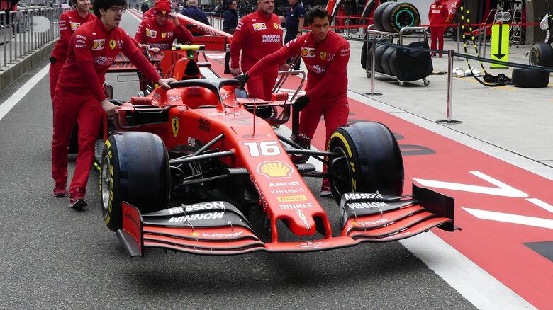 Ferrari - GP China - Shanghai - Formel 1 - Donnerstag - 11.4.2019