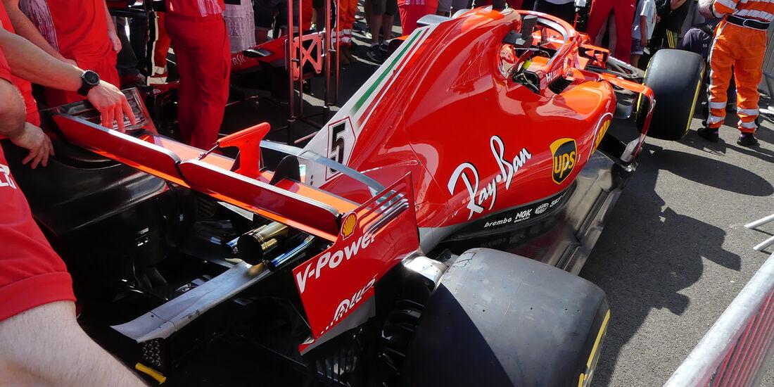 Ferrari - GP Frankreich - Paul Ricard - Formel 1 - 21. Juni 2018