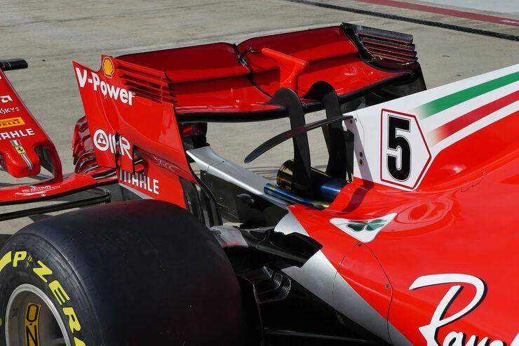 Una de las razones por la que Ferrari bajó su rendimiento