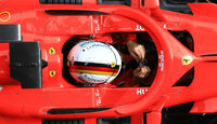 Ferrari - Halo - F1-Test - Barcelona - 2018