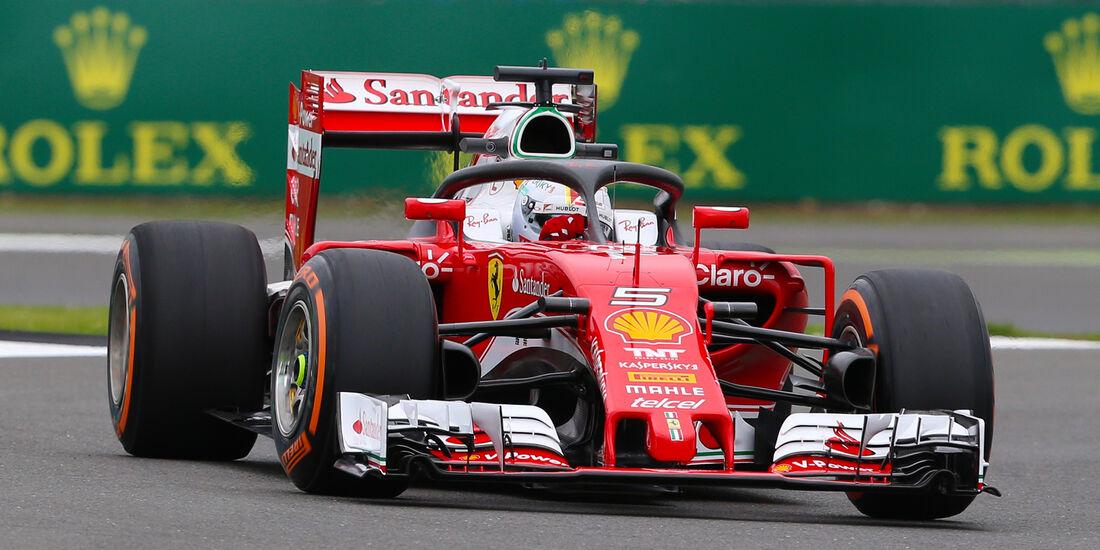 Ferrari - Halo-Test - Formel 1 - 2016