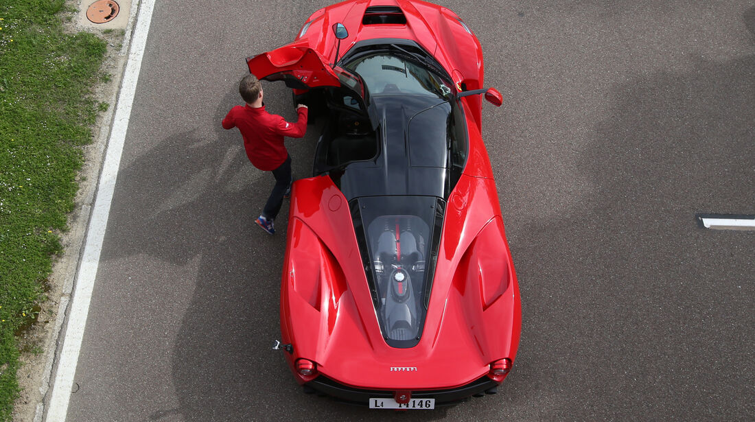 Ferrari LaFerrari, von oben, Draufsicht