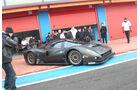Ferrari P4/5 Competizione, Ausfahrt