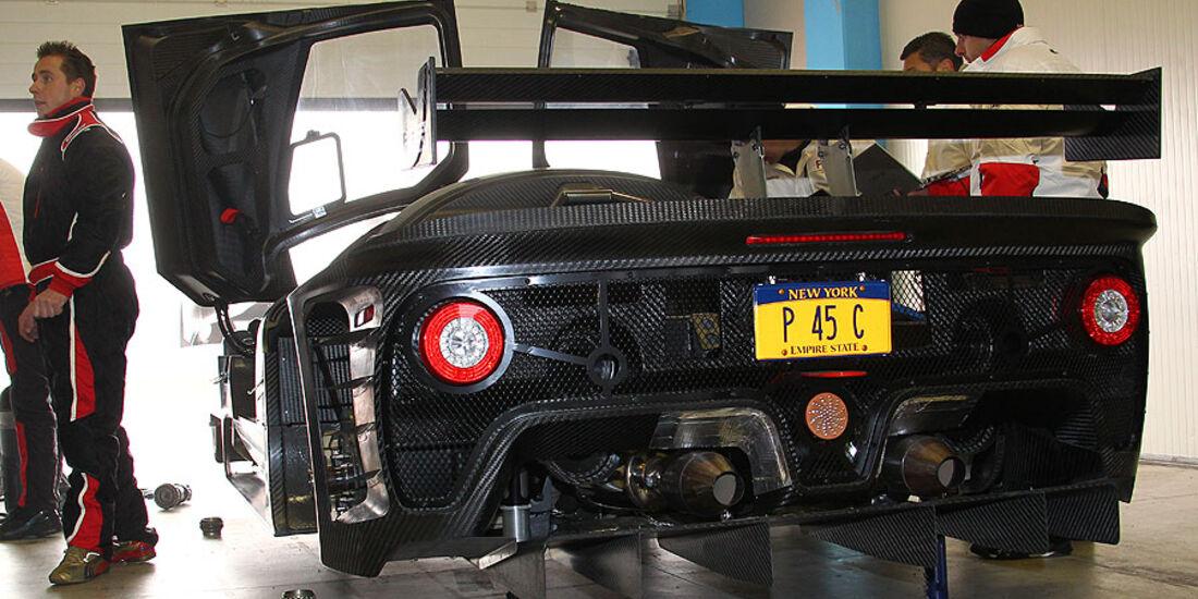 Ferrari P4/5 Competizione, Box, Detail