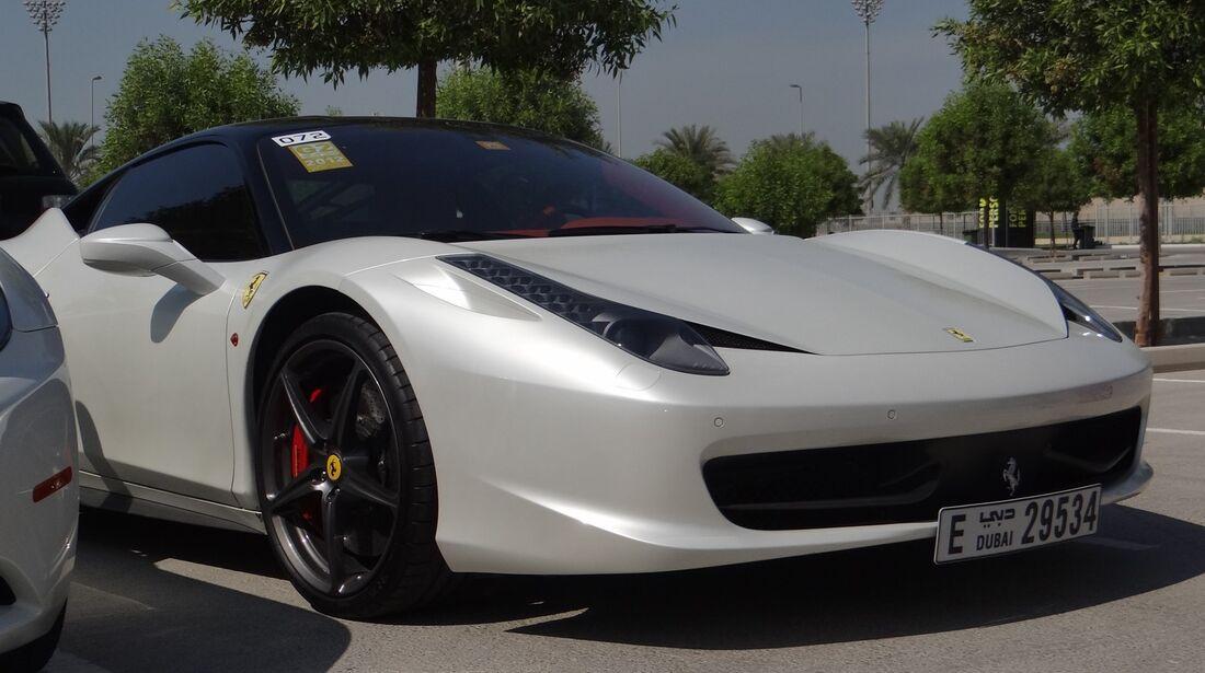 Ferrari - Scheich Autos - GP Abu Dhabi 2012