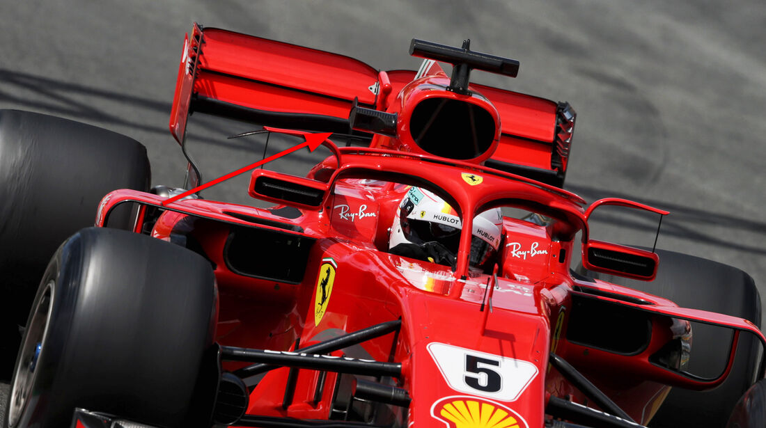 Ferrari - Technik - GP Spanien 2018