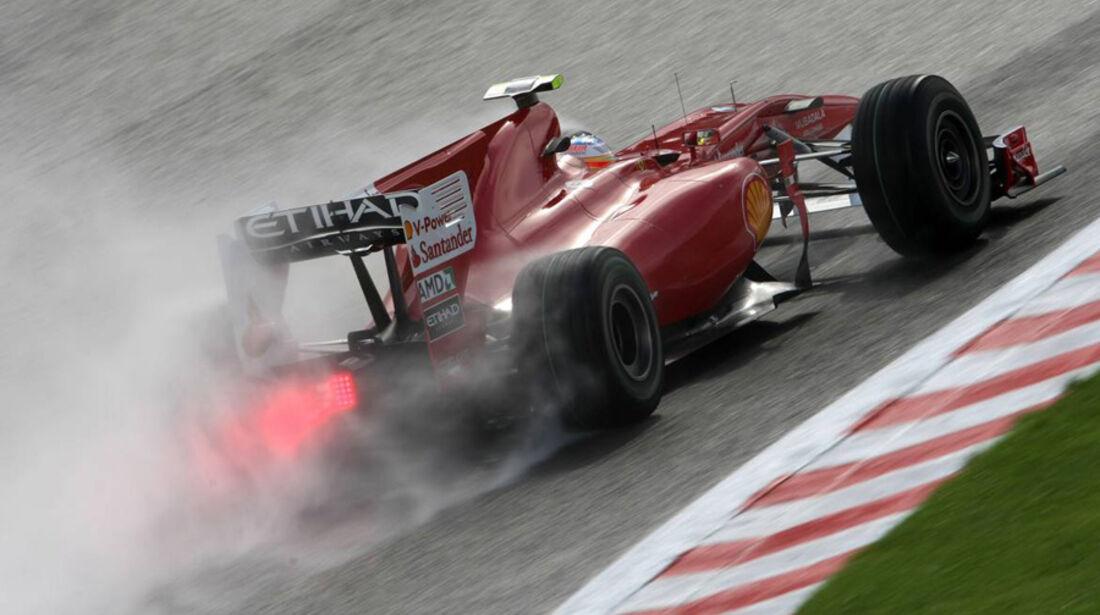 Ferrari beim GP Belgien