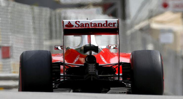 Ferrari - breite Reifen - GP Monaco 2016