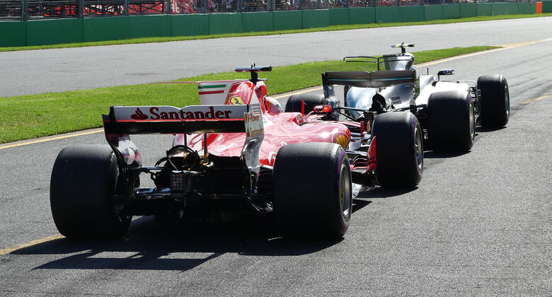 Ferrari vs. Mercedes - GP Australien 2017