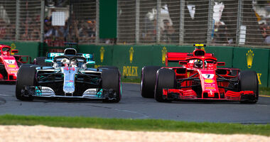 Ferrari vs. Mercedes - GP Australien 2018