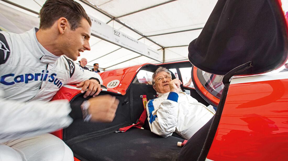 Festival of Speed, Adrian Sutil, Hans Herrmann