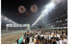 Feuerwerk - GP Abu Dhabi 2014