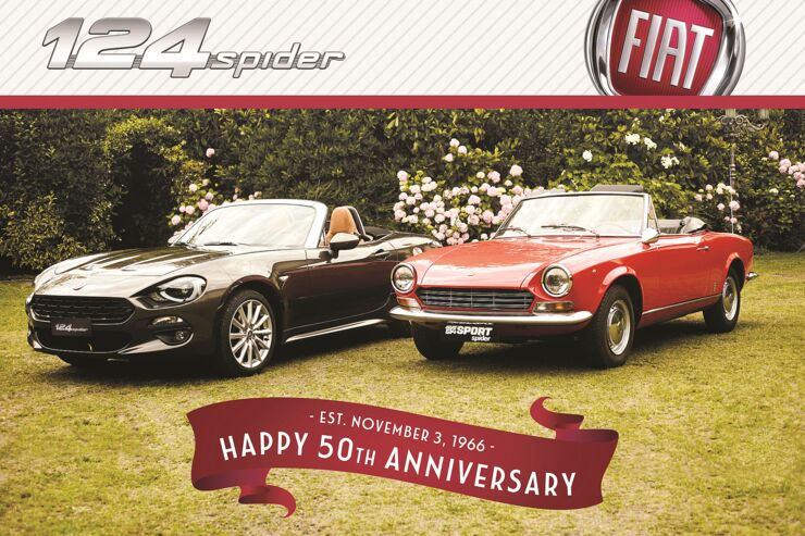 Fiat 124 Spider Amerika Limited Edition