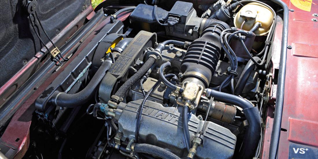 Fiat 124 Spider, Motor