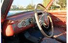 Fiat 1500 Ghia, Cockpit, Lenkrad