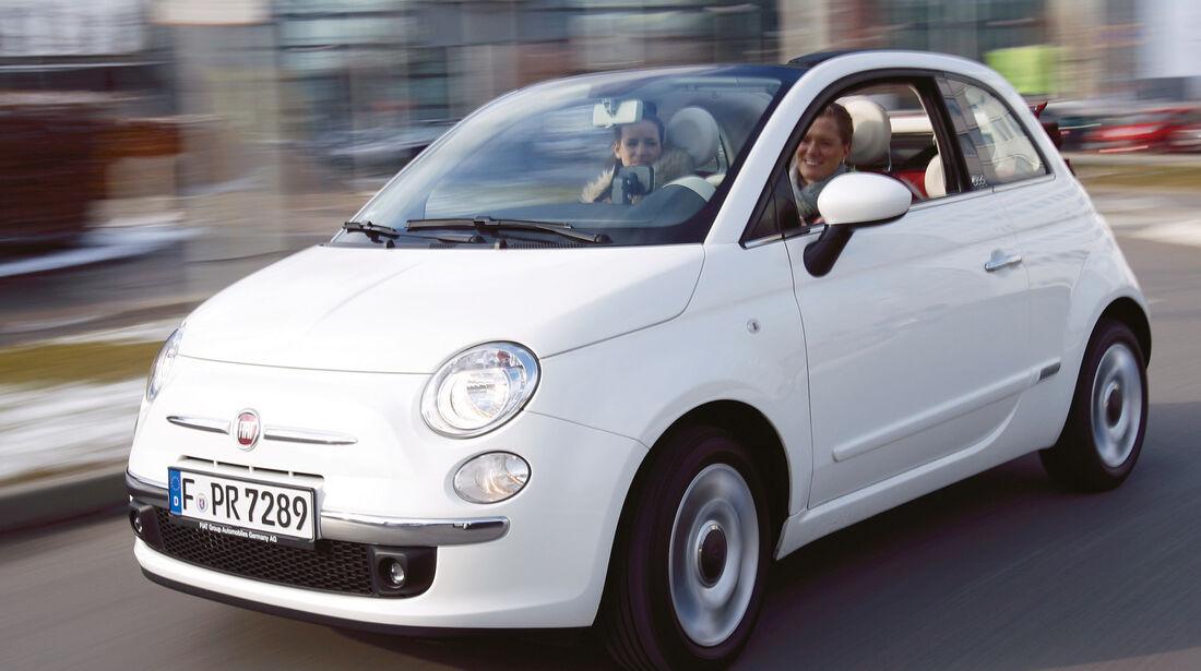 Fiat 500 C, Frontansicht